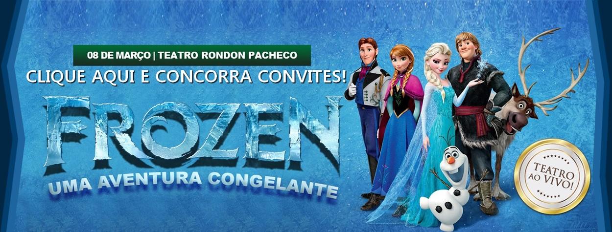 Frozen Aventura Congelante – A Peça
