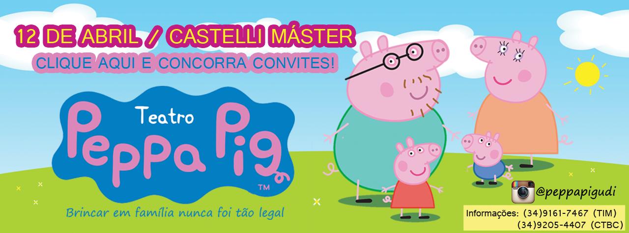Promoção Peppa Pig na sua casa